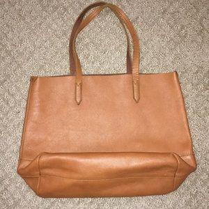 J. Crew Leather Tote Bag